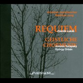 Zdenek Lukas: Requiem; Anton&#237;n Tucapsky: Veni Sancte Spiritus; Gy&#246;rgy Orb&#225;n: Stabat mater; Cor mundum / Dresdner Motettchor