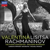 Rachmaninov: Complete Piano Concertos; Paganini Rhapsody / Valentina Lisitsa, piano