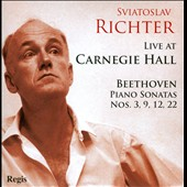 Sviatoslav Richter Live at Carnegie Hall - Beethoven: Piano Sonatas nos 3, 9, 12 & 22