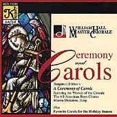 Britten: A Ceremony of Carols;  et al / William Hall, et al