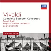 Collectors Edition: Vivaldi - Complete Bassoon Concertos / Daniel Smith, bassoon; English CO; Zagreb Soloists [5 CDs]