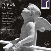 J.S. Bach: Motets / St. Thomas Choir of Men & Boys; John Scott