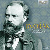 The Dvorák Edition / Ruggiero Ricci, violin; Zara Nelsova, cello; Peter Schreier, tenor [45 CDs]
