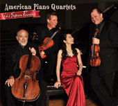 American Piano Quartets - World Premiere Recordings of Lee Hoiby, Wlater Piston, Paul Schoenfield, George Tsontakis / Amara Piano Quartet