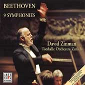 Beethoven: 9 Symphonies / Zinman, Tonhalle Orchestra Zurich