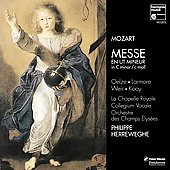 Mozart: Messe in C Minor / Herreweghe, Oelze, Larmore, et al