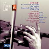 Beethoven: Duet for Viola and Cello, etc / Kagan, et al