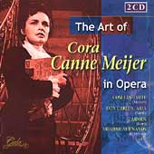 The Art of Cora Canne Meijer in Opera - Verdi, et al