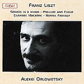 Liszt: Sonata in B Minor, etc / Orlowetsky