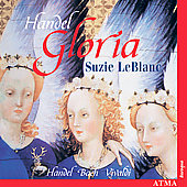 Handel, Vivaldi: Gloria / LeBlanc, Weimann, Montr&#233;al Baroque