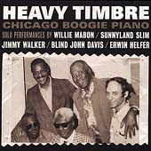 Various Artists: Heavy Timbre: Chicago Boogie Piano