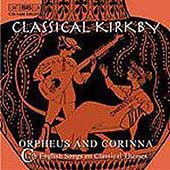 Classical Kirkby - Orpheus & Corinna / Kirkby, et al
