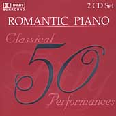 50 Classical Performances - Romantic Piano