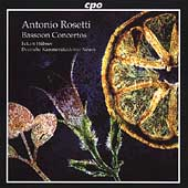Rosetti: Bassoon Concertos / Eckart H&#252;bner, et al