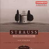 R. Strauss: Symphonic Poems Vol 3 / Järvi, et al