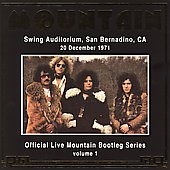 Mountain: Official Bootleg Series, Vol. 1: Live at San Bernardino 1971