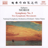 Moroi: Symphony no 3, etc / Yuasa, Ireland National SO