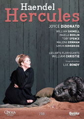 Handel: Hercules / Joyce DiDonato, William Shimell, Ingela Bohlin, Toby Spence, Malena Ernman, Simon Kirkbride. Les Arts Florissants, William Christie [DVD]