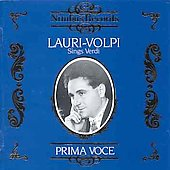 Prima Voce - Giacomo Lauri-Volpi Sings Verdi