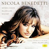 Mendelssohn, Mozart, etc / Benedetti, MacMillan, ASMF