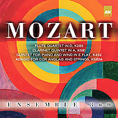 Mozart: Quartet, Quintet / Ensemble 360