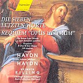 Haydn: Die Sieben letzen Worte;  J.M. Haydn: Requiem