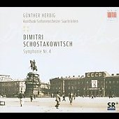 Shostakovich: Symphony no 4 / G&uuml;nter Herbig, et al