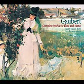 Gaubert: Complete Music for Flute & Piano / Milan, Brown