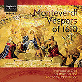 Monteverdi: Vespers of 1610 / Alwood, et al
