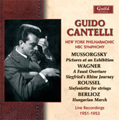 Mussorgsky, Berlioz, Wagner, etc / Cantelli, NBC SO, New York PO