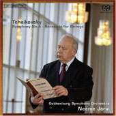 Tchaikovsky: Symphony no 4, Serenade for Strings, etc / Järvi, Gothenburg SO
