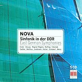 Nova - Sinfonik in der DDR - East German Symphonies