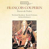 Couperin: Pi&egrave;ces de Violes / Kuijken, Uemura, Kohnen