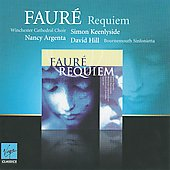 Fauré: Requiem / David Hill, Simon Keenlyside, Nancy Argenta, et al