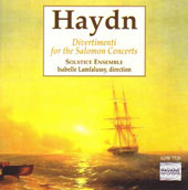 Haydn: Divertimenti for the Salomon Concerts / Lamfalussy, Laurent