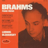 Brahms: Piano Music