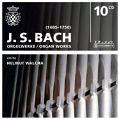 JS Bach: Organ Works / Helmut Walcha, organ [10 CDs]