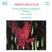 Shostakovich: String Quartets Vol 3 / Éder Quartet