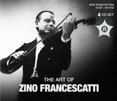 The Art of Zino Francescatti - works by Bach, Beethoven, Brahms, Ben-Haim [4CD] [24 bit / 96khz]