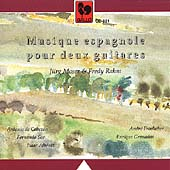 Musique espagnole pour deux guitares / Moser, Rahm