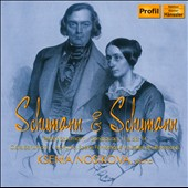 Schumann & Schumann: Robert: Sonatas Opp. 11 & 14; Clara: Notturno; Scene Fantastique / Ksenia Nosikova, piano