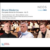 Bruno Maderna: Complete Works for Orchestra, Vol. 5
