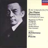 Rachmaninov: The Piano Concertos, etc / Ashkenazy, Previn