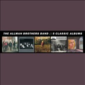 The Allman Brothers Band: Five Classic Albums [Box]