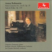 Anton Rubinstein: Piano Concerto No. 2; Suite in E flat, Op. 119 / Grigorios Zampara, piano