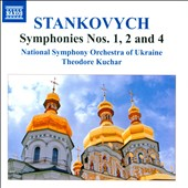 Yevhen Stankovych (b.1942): Symphonies Nos. 1, 2 and 4 / National SO of Ukraine; Kuchar