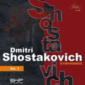 Shostakovich: Symphonies, Vol. 1 / Bulgarian Nat'l Radio SO; Tabakov