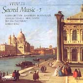 Vivaldi: Sacred Music Vol 5 / King, King's Consort