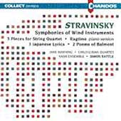 Stravinsky: Symphonies of Wind Instruments, etc / Rattle