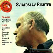 Sviatoslav Richter plays Brahms and Liszt
